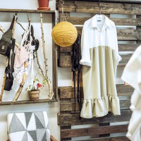 upcyklované šaty a košele